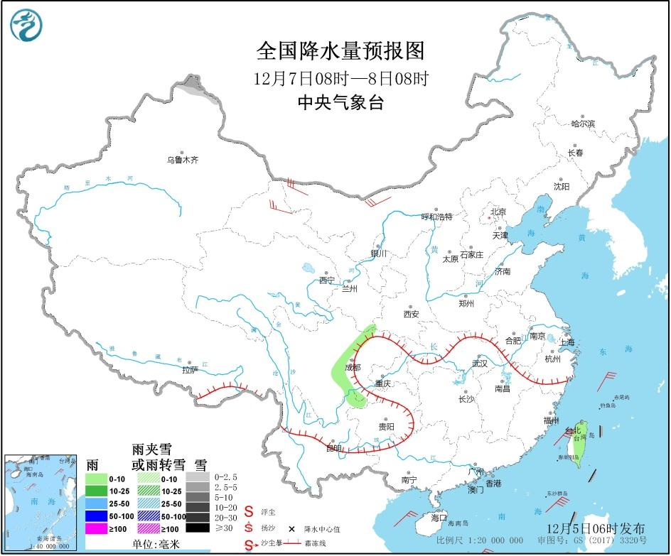 今晨吉林东部,辽宁,内蒙古东南部,京津冀及川西高原,西藏东部等地降温